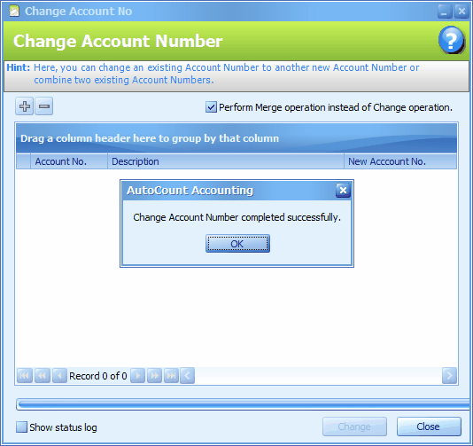 Merge Two Related Accounts Accounts & Transactions